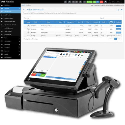 Sales and Inventory Management Software with POS System
